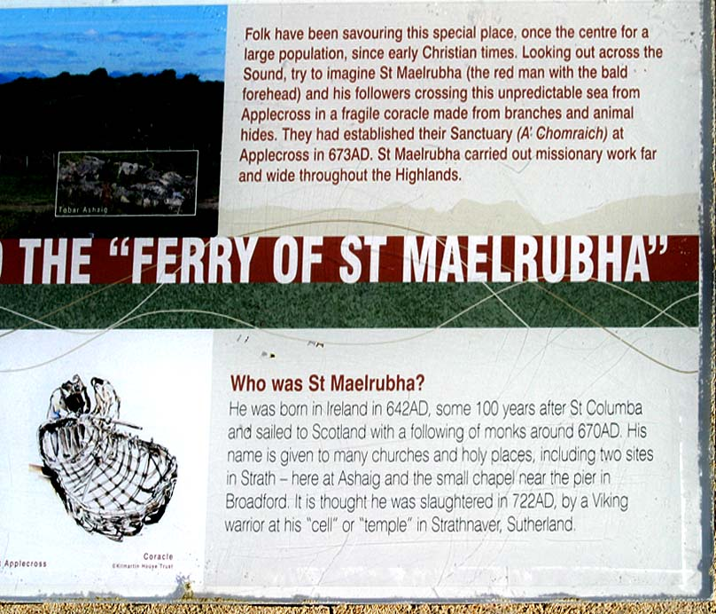 History of St Maelrubha