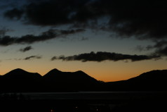 Sunset over Glamaig