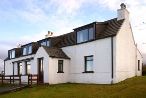 Ashaig House is a refurbished Skye croft house
