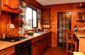 Ashaig House has a traditional style kitchen for self-catering bookings