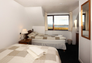 Family room ensuite, with panoramic sea views