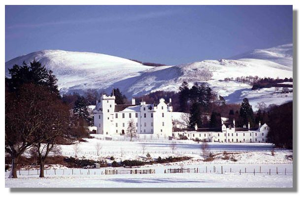 Blair Castle en-route to Skye