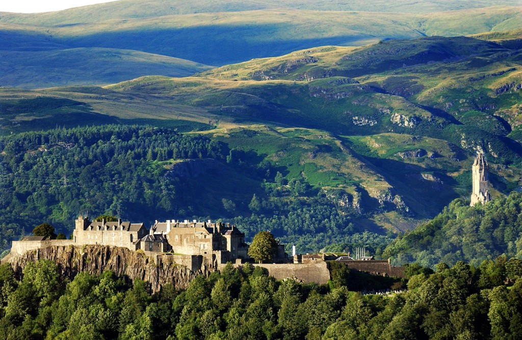 Historic Stirling castle - gateway to the Highlands