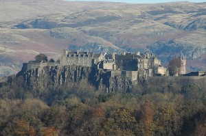 Historic Stirling castle en-route to Skye